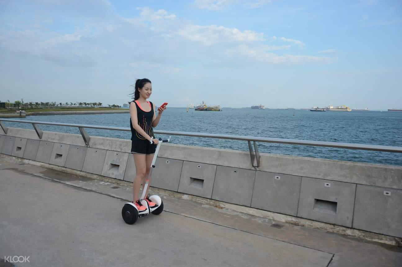 セグウェイツアー観光 シンガポール